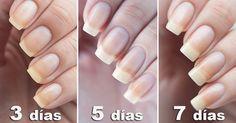 Home remedies to grow nails and harden them - Go Tips Grow Nails Faster, How To Grow Nails, Ongles Forts, Beauty Secrets, Beauty Hacks, Beauty Tips, Beauty Care, Hair Beauty, Nail Soak