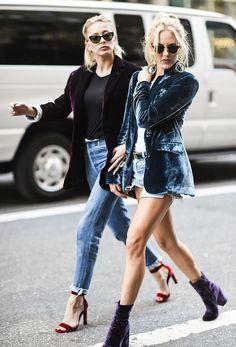 Velvet Crush Street Style Velvet Blazer