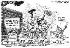 ANC putting Zuma together again - Zapiro