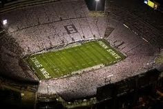 Beaver Stadium, home of the Penn State Nittany Lions.  This one is for my sister.