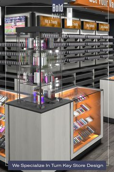 We create custom store designs at stock fixture pricing. We take your store floor plan, design a full color store rendering like the pin images. Then quote and manufacturer your unique store, it's easy! Drop us a email and we will get in contact with you. Visit our dedicated sites: bolddisplaycbd.com bolddisplayvape.com #storedesign #retailstoredesign #Vapestoredesign #instoredesign #storelayout #retailstoreinterior #wellnessstoredesign #storefixturedisplay #retaildesign Vape Store Design, Retail Store Design, Store Layout, Store Fixtures, Plan Design, Liquor Cabinet, Floor Plans, Quote, Drop