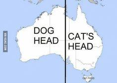 Ever notice if you split Australia in half it looks like...