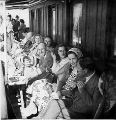 Sarıyer Vapuru, 1950ler #istanlook #nostalji