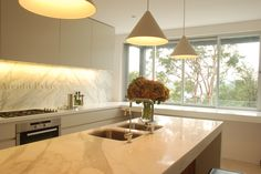 #mosman #kitchen #pendants #marble #arentpyke #arent #pyke