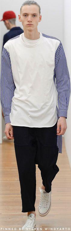 Comme des Garçons Shirt Fall 2017 Menswear Fashion Show #fw17 #fall2017 #commedesgarçons #shirts