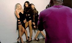 Behind the scenes of Pretty Little Liars 6B promotional photoshoot