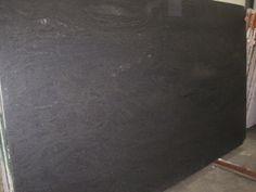 Tate Ornamental :: Black Soapstone 3cm Honed 10982 (Black Granite from Brazil)