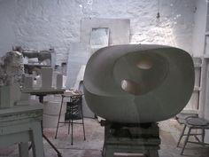 Barbara Hepworth's studio. St Ives