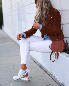 Women Jeans Outfit Punk Plaid Pants Curvy Dresses Professional Outfits For Women Womens Leather Look Trousers Party Casual Attire Jeans And Heels Outfit – azalearlily Casual Day Outfits, Heels Outfits, Outfits With Converse, Outfit Jeans, Mode Outfits, Jean Outfits, My Outfit, Fall Outfits, Outfit Shop