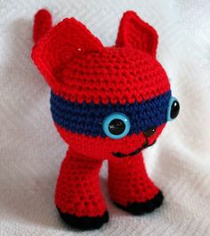 Amigurumi Bandit Scrumble by SeaKnightsCraft on Etsy