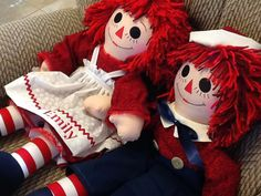 25 Personalized Raggedy Ann and Andy by TimelessTreasuresbyB