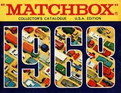 Matchbox Collector's Catalogue, 1968, by Wishbook, via Flickr