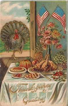 vintage turkey postcard #Anthropologie #PinToWin