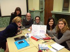 DepLengMaristasOu @MarOuDepLeng Grupo de profes 1º y 2º ESO preparando acuerdos para el 2º trimestre #compostelaenruta  #ourenseeenruta
