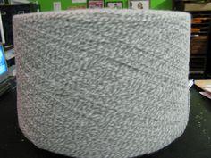 3/15 Acrylic Grey White Heather Machine Knitting Yarn, Sock Yarn, Lace Yarn, 3 ply acrylic yarn, fingering Weight by stephaniesyarn on Etsy
