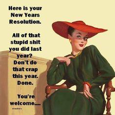 New Years Humor