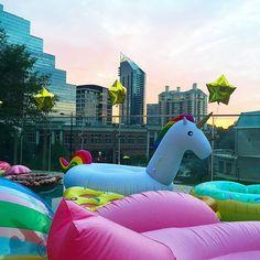 Pool party! Photo via saralongsworth's Instagram