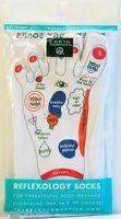 Earth Therapeutics Reflexology Foot Massage Softening Socks - NEW