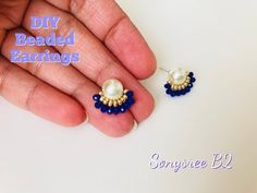 DIY Bracelets and Jewelry Making Ideas DIY Projects Craft Ideas & How To's for… - Earrings Jewelry Wire Wrapped Jewelry, Wire Jewelry, Beaded Jewelry, Diamond Jewelry, Jewellery, How To Make Earrings, Simple Earrings, Fancy Earrings, Armband Diy