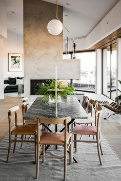 Scandinavian Dining Room Design: Ideas & Inspiration - Di Home Design Scandinavian Interior Design, Luxury Interior Design, Scandinavian Home, Interior Decorating, Decorating Tips, Dining Room Inspiration, Interior Inspiration, Plywood Furniture, Rooms Ideas