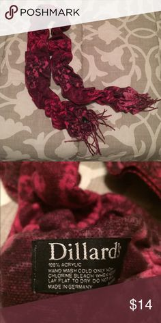 🎉 SALE 🎉 Fuschia/Pink Scarf Great scarf to add some *POP* to your outfit! I have too many scarves, so I am selling this one. No issues with it! Very soft material. Accessories Scarves & Wraps