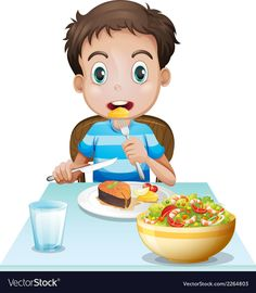 A Little Girl Happy To Eat Breakfast - Vida Saludable Math For Kids, Yoga For Kids, Therapy Activities, Preschool Activities, Action Pictures, Material Didático, Flashcards For Kids, Kids Schedule, Action Words