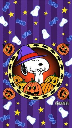 Cartoon Halloween Wallpaper With Tenor, maker of G Charlie Brown Halloween, Peanuts Halloween, Halloween Cartoons, Charlie Brown And Snoopy, Halloween Images, Spring Wallpaper, Holiday Wallpaper, Halloween Wallpaper, Halloween Backgrounds