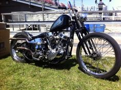 #murdered #panhead #springer #chopper #motorcycle #LetsGetWordy