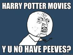 Where's Peeves?
