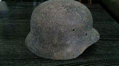 Relic WW2 ORIGINAL German ARMY M40 Stahlhelm Helmet  WWII East Front SHELL