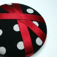 .. Black White Red, All Black, Red Color Combinations, One Color, Polka Dots, Dot Dot, Fancy, Yellow, Leather
