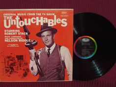 "The Untouchables Original Music from TV Show LP 1959 Capitol T 1430 33RPM  12"" #TVScoreSoundtrack"