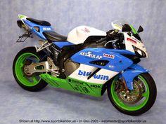 Very colourful 2005 Honda CBR1000RR