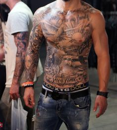 50 Dove Tattoos For Men – Soaring Designs With Harmony – abdomen Cool Chest Tattoos, Chest Piece Tattoos, Pieces Tattoo, Cool Forearm Tattoos, Arm Sleeve Tattoos, Sleeve Tattoos For Women, Tattoos For Guys, Dove Tattoos, Body Art Tattoos