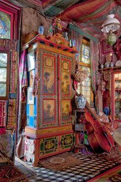 Bohemian Home… Romany Soup: Cornelis le Mair Gypsy Decor, Bohemian Decor, Bohemian Style, Boho Chic, Shabby Chic, Bohemian Gypsy, Bohemian Homes, Bohemian Clothing, Hippie Chic