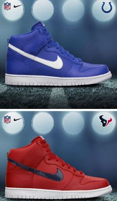 NFL x Nike Dunk High & Low Sneaker AFC SOUTH Pack