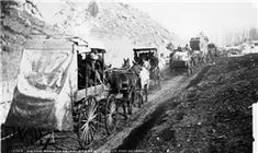 """15. """"On the Road to Cripple Creek (c. 1880)."""""""