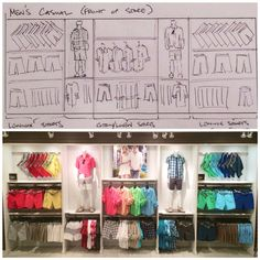 visual merchandising portfolio examples - Google Search