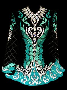 Off The Rack Irish Dance Dresses for Sale.  Creating Fabulous, one of a kind dresses for young dancers worldwide. Celtic Dance, Celtic Dress, Irish Art, Dance Wear, Irish Step Dancing, Dance Coloring Pages, Dancers, Dance Photography, Irish Dance Dresses