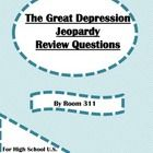 Are you looking for a fun review game for your high school U.S. history class as you study the Great Depression? I created these questions in the c...