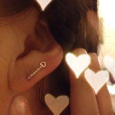 Bobby pin earring..I tried! Haha