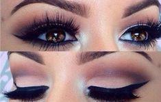 Consejos para maquillar los ojos marrones claros: