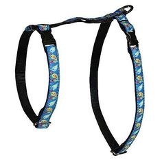 RC Pet Products 1/2-Inch Kitty Harness, Chunky, Love Birds