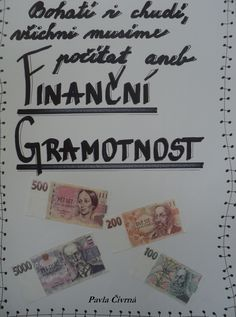 Finanční gramotnost - titulka Finance, Science, Children, School, Books, Ideas, Toddlers, Livros, Boys