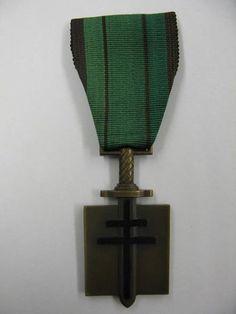Medalla Francesa en la II Guerra Mundial