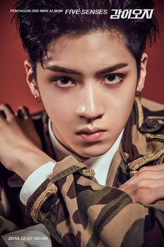 pentagon five senses, pentagon five senses teaser, pentagon kpop profile, pentagon members, pentagon hongseok, pentagon sf9