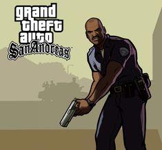Grand Theft Auto San Andreas: Officer Tenpenny by tiagootaku59 on DeviantArt