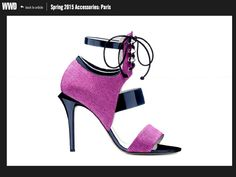 WWD features several GIO DIEV styles in their Spring/Summer 2015 Round Up #giodiev #wwd #ss15 #shoeaddict #shoelover #trends http://www.wwd.com/accessories-news/trends/spring-2015-accessories-paris-8013516