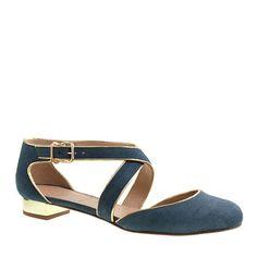 Janey crisscross flats - Shoes - Women's 40% off outerwear, shoes, boots & bags - J.Crew