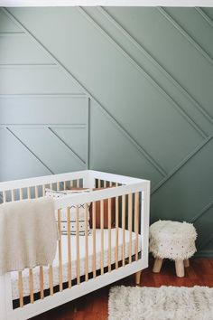 Creating a Modern Wood Accent Wall - Within the Grove Accent Wall Bedroom, Accent Walls, Wallpaper Accent Wall Bathroom, Accent Wall Colors, Paint Bathroom, Bedroom Furniture Makeover, Bedroom Paint Colors, Bedroom Green, Wood Accents